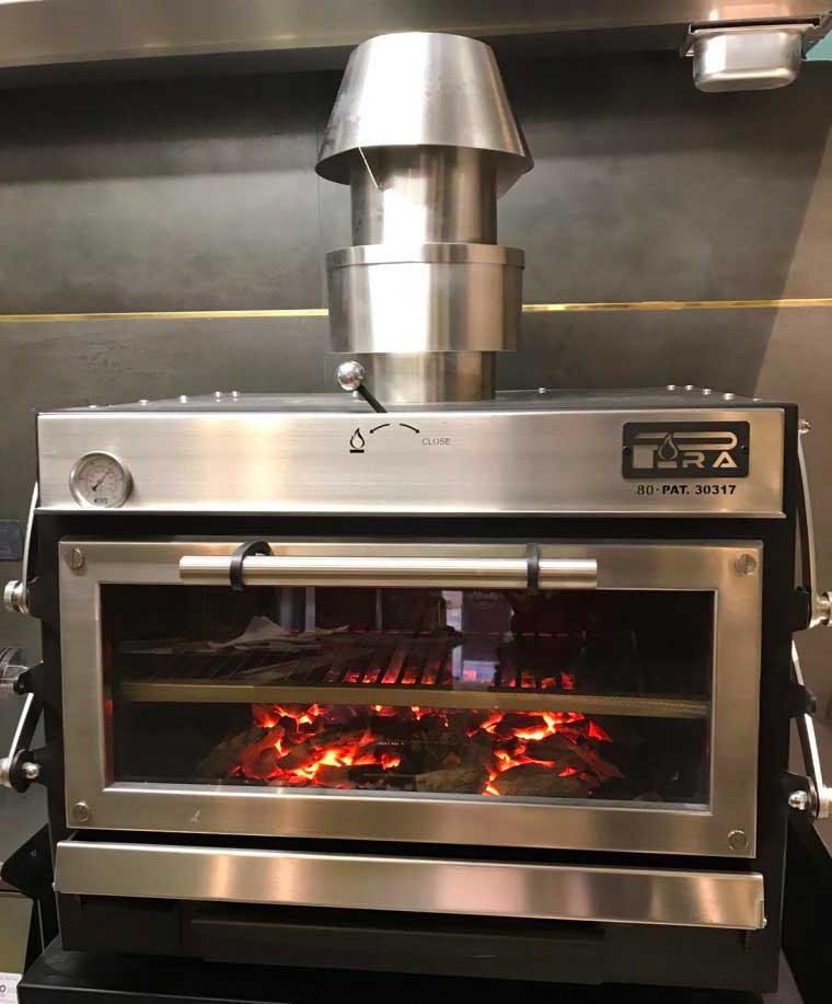 forno a carbone Pira 90 Ed